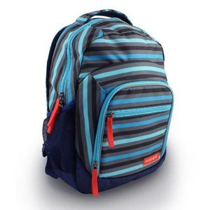 Goodbyn backpack blue stripes